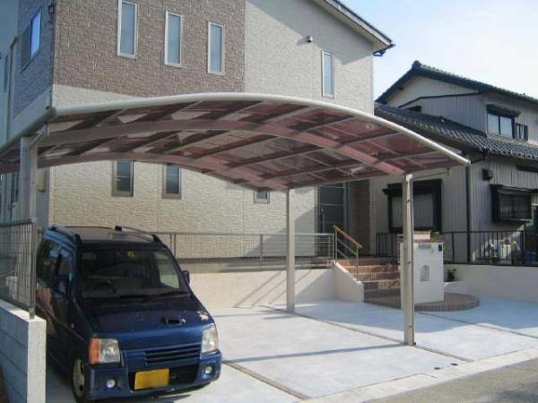 開放感あふれるカーポート 愛知県豊田市1