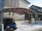 開放感あふれるカーポート 愛知県豊田市