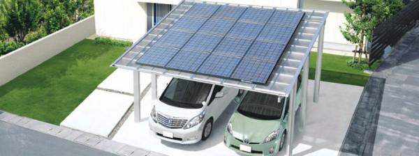 太陽光発電システムMシェード・G-1 三協立山アルミ1