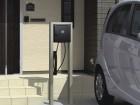 電気自動車対応プラグインスタンド 三協立山アルミ