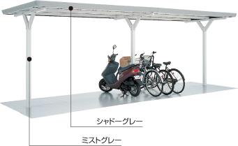 イナバ自転車置場 イナバ物置1