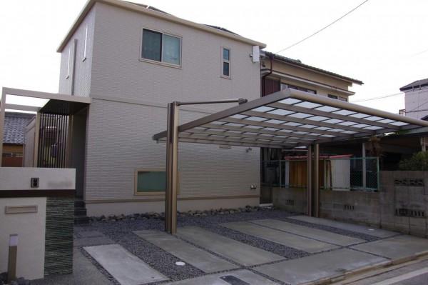 シンプルでシャープなエクステリア 愛知県名古屋市1