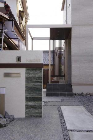 シンプルでシャープなエクステリア 愛知県名古屋市2