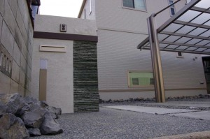 シンプルでシャープなエクステリア 愛知県名古屋市3