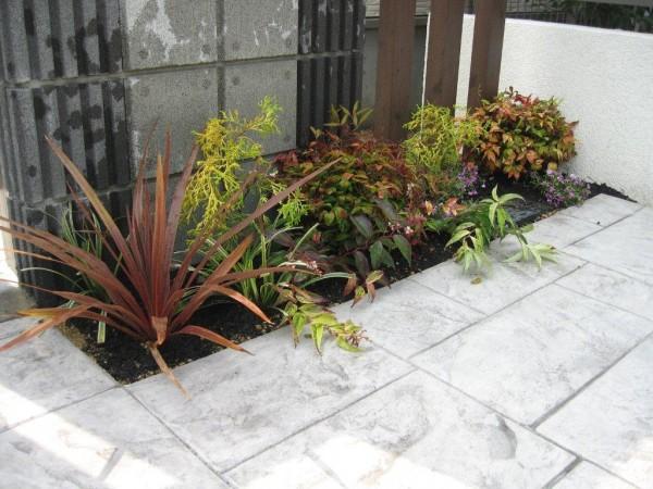 花壇 寄せ植え 愛知県日進市1