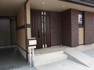 建物と一体感のあるスマート外構 幸田町3