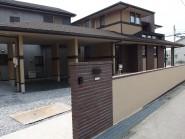 建物と一体感のあるスマート外構 幸田町