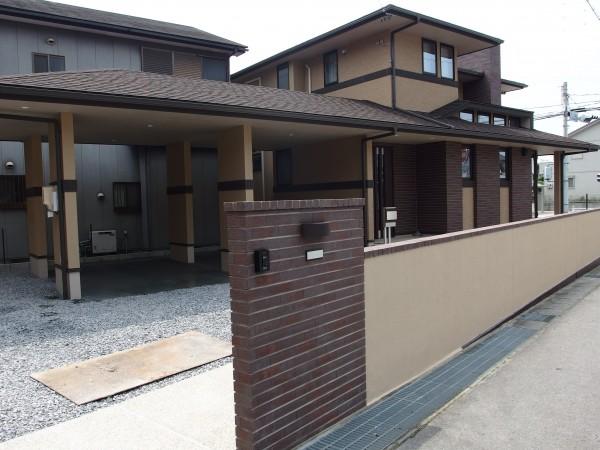 建物と一体感のあるスマート外構 幸田町1