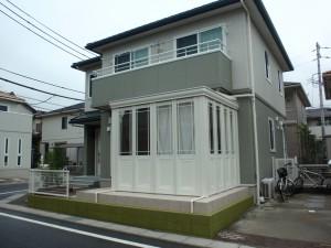 サンルームのあるお庭 暖蘭物語 愛知県東浦町3