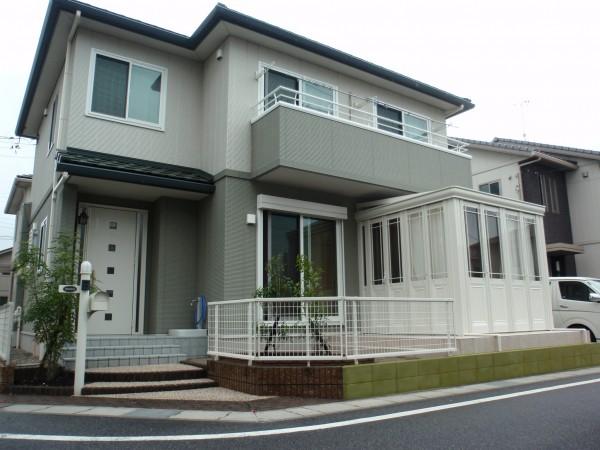サンルームのあるお庭 暖蘭物語 愛知県東浦町1