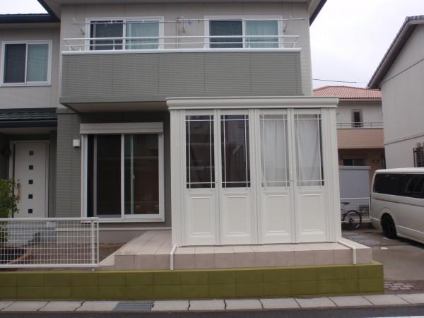 サンルームのあるお庭 暖蘭物語 愛知県東浦町4