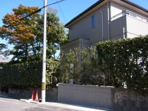伝統的な和風テイストの門構え 名古屋市2