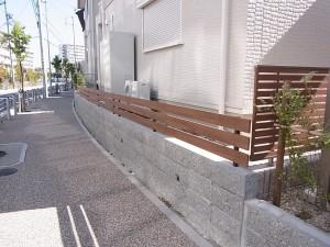 芝のある外構 名古屋市6